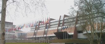 The Council of Europe building in Strasbourg
