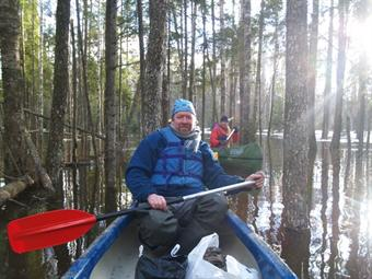 Canoeing enables quiet enjoyment without pollution