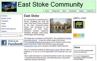 The first UK site built with the System for Local Communication (click image to enlarge, click Best Practice to learn more).